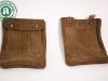 IPAD Hüllen geschlossen und braun gefärbt. Bestickt im Lederhosen Stil